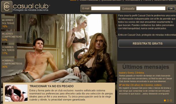 Casual Club: Nuevo portal de encuentros sin compromiso