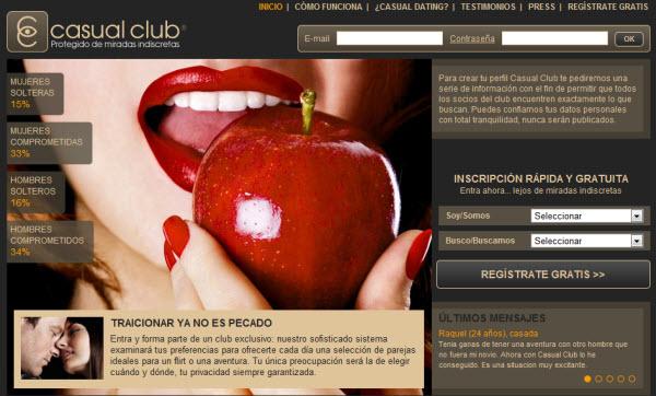 Casual Club: opiniones del portal de encuentros sin compromiso