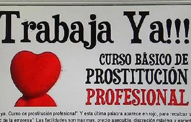 Curso de prostitucion profesional: trabajo en tiempo de crisis