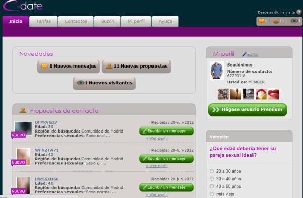contactos online gratuitos