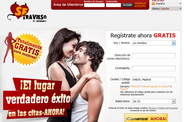 Sexo online sin registro