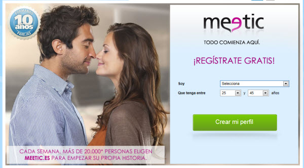 Comentarios de Meetic
