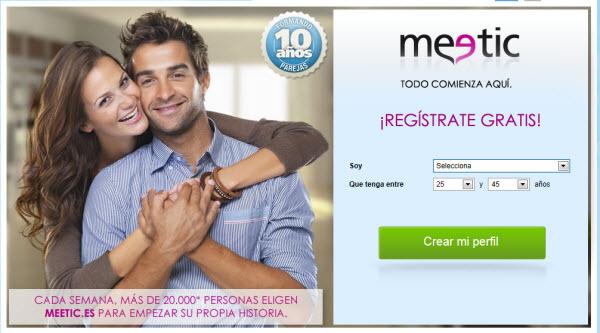 Relaciones sexuales en Meetic