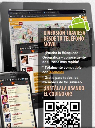 La nueva aplicación Se Travieso móvil