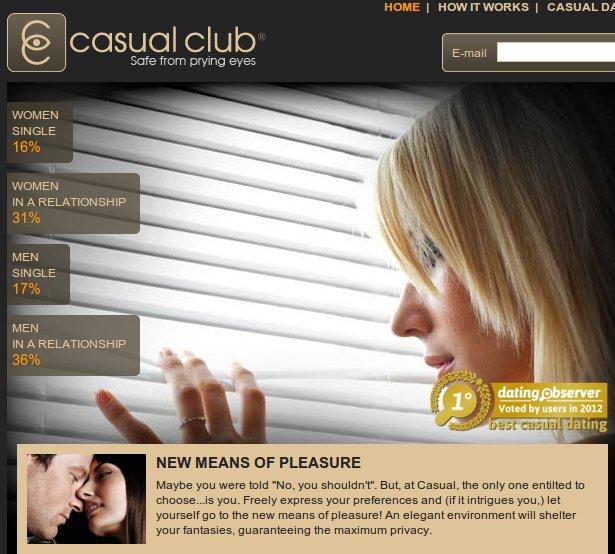 Follar con mujeres casadas a través de Casual Club
