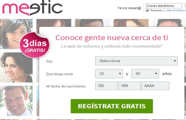 pagina de contactos Meetic