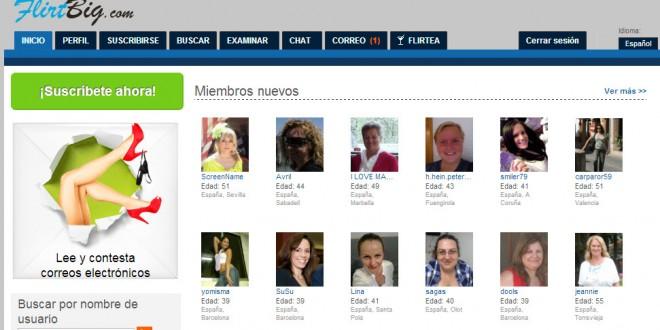 Flirtbig: opiniones del nuevo portal de encuentros esporadicos