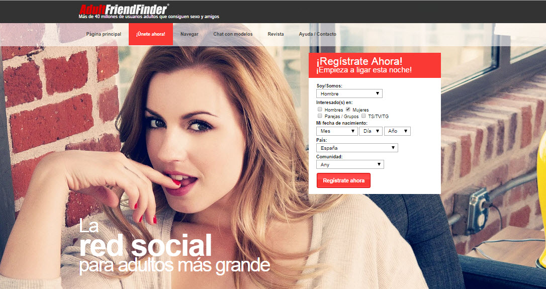 adult friend finder opiniones