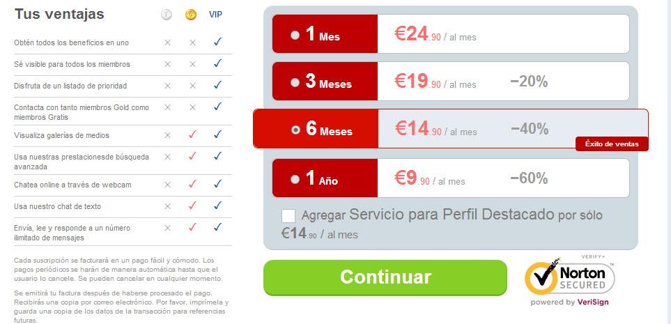 esporadicas.com precios