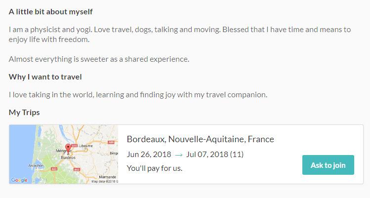 como funciona miss travel